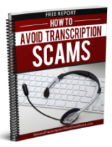 transcription scams